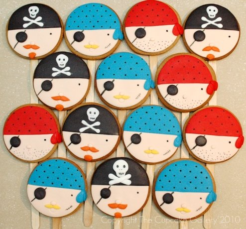 Pirate Cookiepops